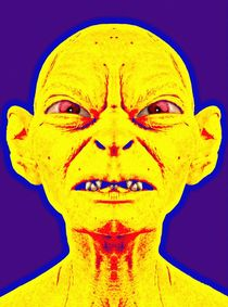 Gollum, alias in The Lord of the Rings: The Two Towers von Art Cinema Gallery