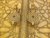 Golden gates by Florentina Necunoscutu de Carvalho