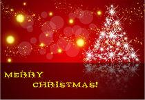 Merry Christmas greeting card by Roman Popov