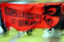Kohleausstieg - Catwoman - Transparent / coal phaseout - catwoman - banner  von mateart