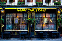 The Happy Christmas pub von David Pyatt
