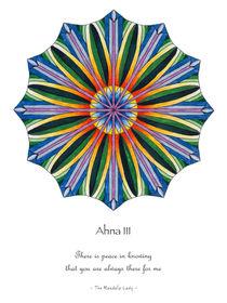 Ahna Mandala #3 w/message by themandalalady