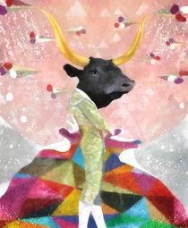 Bull Matador von Steve Moors