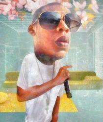 Jay-Z portrait by Steve Moors