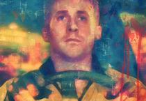 Ryan Gosling portrait. by Steve Moors