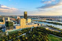 Aerial view of Vienna, Austria by Michael Abid