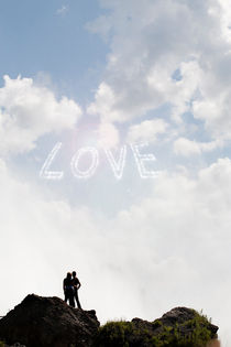 Love written in the sky. von morten larsen