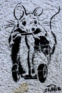 Berlin Street Art VIII von Simone Wilczek