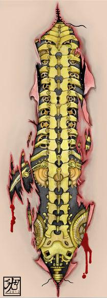 Bio-Mechanical Steampunk Spine von Sandra Gale