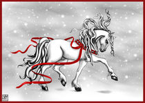 Christmas Snow Bells von Sandra Gale
