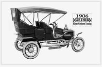 Northern Silent Touring Car #1. 1906. by chris kusik
