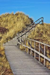 Bohlenweg durch die Dünen  von AD DESIGN Photo + PhotoArt