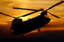 RAF Chinook by James Biggadike