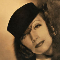 Greta Garbo by Vincent Monozlay