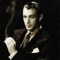 Gary Cooper by Vincent Monozlay