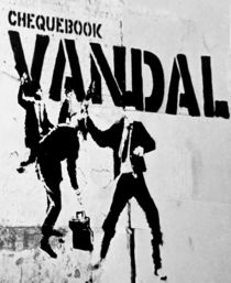 Chequebook Vandal  by arey