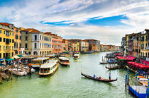 View of the Grand Canal in Venice von Michael Abid