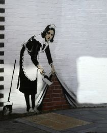 Banksy Maid  by arey