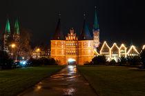 Lübeck zu Weihnachten I von elbvue von elbvue