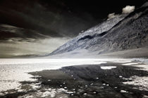 Badwater Basin Infrared by John Rizzuto