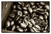 Vintage Coffee Beans by John Rizzuto