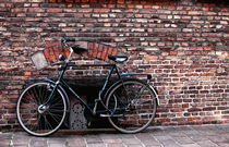 Bike in Bruges by John Rizzuto