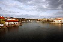 Vltava River View by John Rizzuto