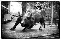 Wall Street Bull 1990s by John Rizzuto