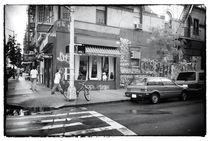 Across the Street 1990s by John Rizzuto