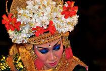 Balinese dancer Ubud Bali Indonesia by Robert van Es