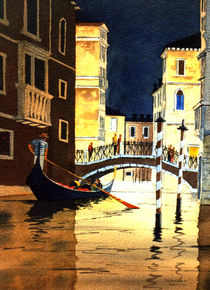 Venice - Evening Lights by bill holkham