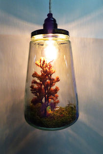 Nature lamp by Harry Hadders
