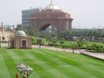 Abu Dhabi Garten von Tobias Hust