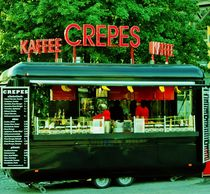 Crêpes and Coffee to go. von Michael Beilicke