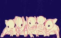 Piglets von Whitney Alexander