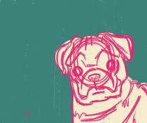 Pug by Whitney Alexander