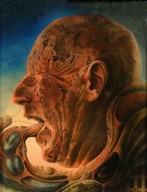 Kopf kannibalisierend by Ernst Thupten Dawa Neuhold