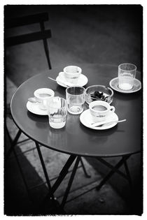 Coffee on the Table von John Rizzuto