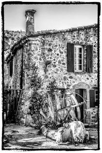 Altes Dorf 2 von Uwe Karmrodt