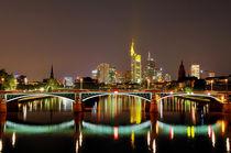 Skyline Frankfurt von Joachim Hasche