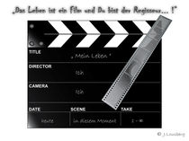 Filmklappe (clapperboard) von lousis-multimedia-world
