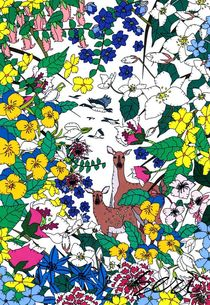 winter flowers by seri