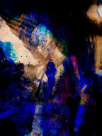 Blue woman by Gabi Hampe