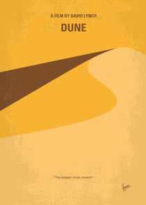 No251 My DUNE minimal movie poster von chungkong