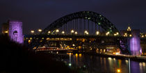 Tyne Bridge at Night by David Pringle