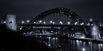 Tyne Bridge at Night von David Pringle