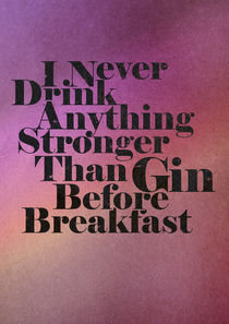 Gin Before Breakfast von David Curry