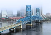 Jacksonville in the Fog von O.L.Sanders Photography