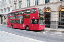 London Bus von emdesigns