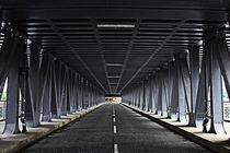 Hamburg Oberhafeneisenbahnbrücke von Erwin Lorenzen
